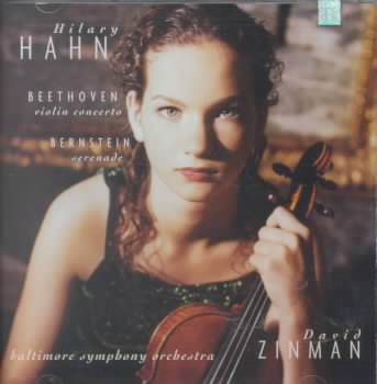 BEETHOVEN:VIOLIN CTO BERNSTEIN SERENA BY HAHN,HILARY/BALT SO (CD)